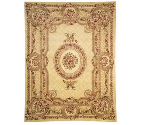 royal palace rugs royal palace 9 x 12 handmade wool rug qvc