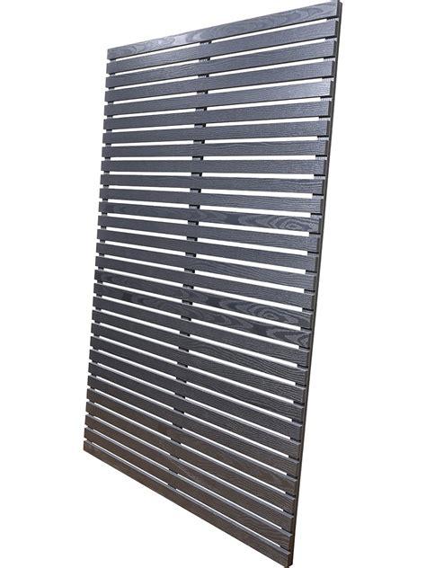 black slat panel     mm slats screen  envy