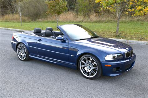 59k-mile 2005 Bmw M3 Convertible 6-speed For Sale On Bat