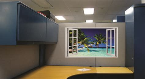give  cubicle  window view  dream cubicle
