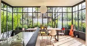 Verriere Atelier Exterieur : veranda turpin longueville veranda pinterest verriere ~ Melissatoandfro.com Idées de Décoration