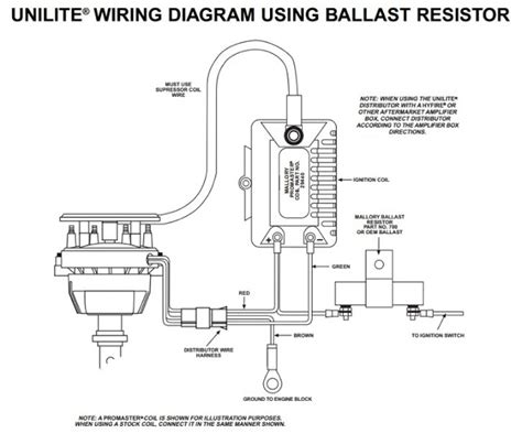 mallory comp 9000 distributor wiring diagram