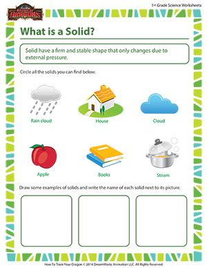 what is a solid 1st grade science worksheets sod