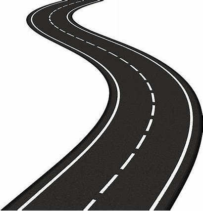 Vector Path Road Winding Clip Illustrations Illustration