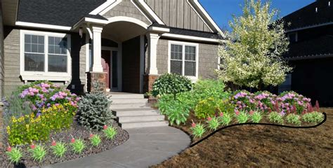Curb Appeal Landscaping Ideas  Home Design