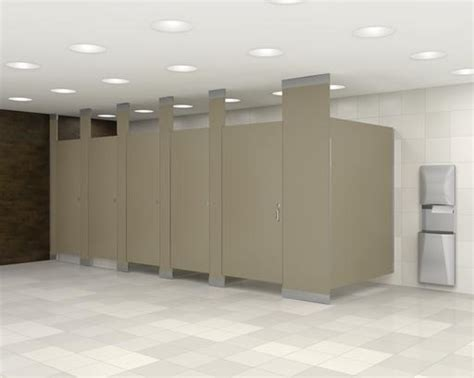 custom layout design  commercial restroom dividers