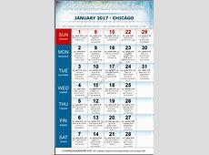 January 2017 Chicago Kannada Calendar Download USA