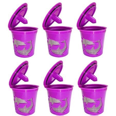 Rollback & clearance items, exclusive products, and walmart offers. Keurig K-Cup Compatible Reusable Refillable Coffee Filter Pod, 6 Count - Walmart.com