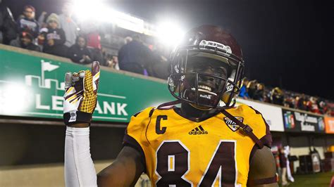 belt loops   great central michigan wide receiver