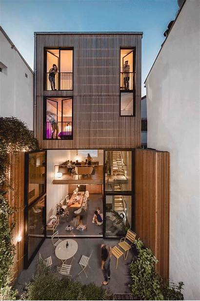 Casa Narrow Skinny Houses Archdaily Em Impact