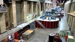Inside Hoover Dam Power House On The Nevada Side