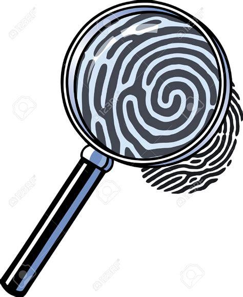 Fingerprint Clipart Fingerprint Magnifying Glass Clip