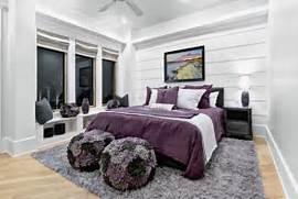 Grey Purple Bedroom Gr...