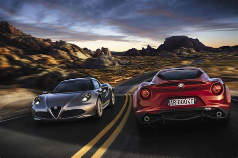 Alfa Romeo 4c Pricing Announced And Expected Us Return