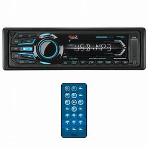 Boss Marine Mechless Single Din Receiver Bluetooth Usb  Sd