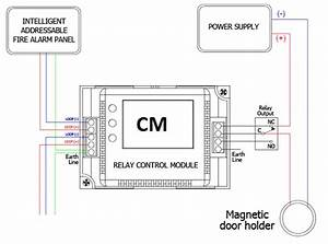 Fire Alarm Door Holder Wiring Diagram