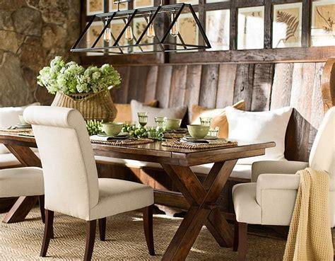 dining table ideas pottery barn window seats