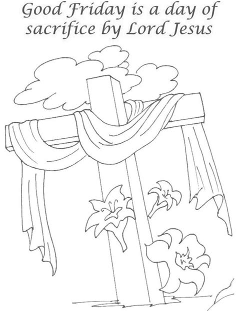 good friday coloring pages  coloring pages  kids
