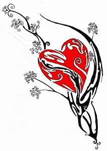 Free Heart Banner Tattoo, Download Free Clip Art, Free ...