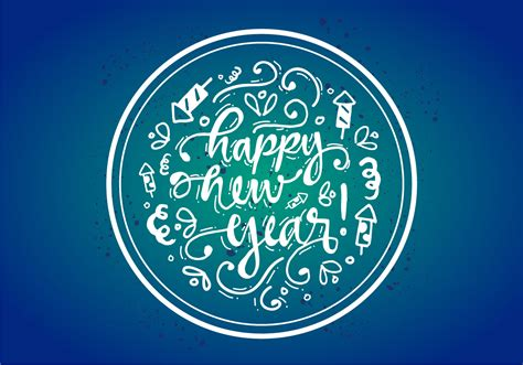 new free free happy new year vector poster free vector