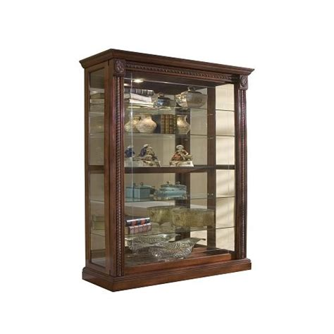 Pulaski Curio Cabinet Sliding Door by Pulaski Two Way Sliding Door Curio 43 By 17 By 80 Inch