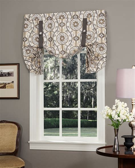tie up valance izmir tie up curtain pretty windows 174