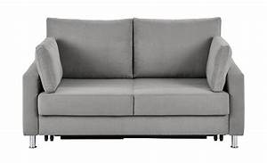 Sofa 1 80 Breit : schlafsofa hellgrau mikrofaser f rth hellgrau 140 cm ~ Markanthonyermac.com Haus und Dekorationen