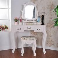 make up table Makeup Vanity Table with Mirror | DesignWalls.com