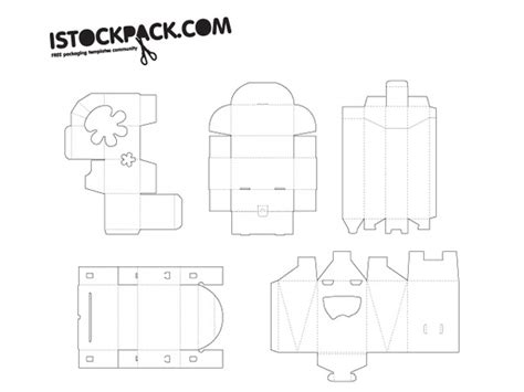 Package Design Templates Illustrator by Packaging Templates Free Vector In Adobe Illustrator Ai