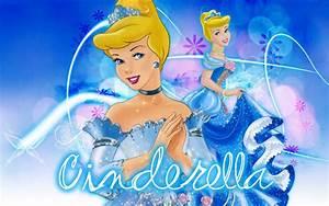Beautiful, Cinderella, Cartoon, Desktop, Hd, Wallpaper, For, Pc
