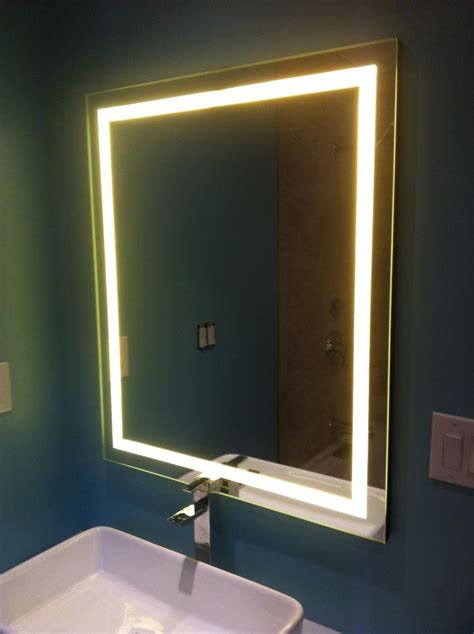 diy lighted mirror great post with step by step to diy this