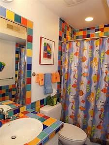 Colorful Bathroom Design Decorating Ideas