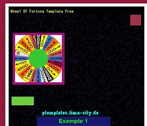 Wheel Of Fortune Template Free  Powerpoint Templates 13334