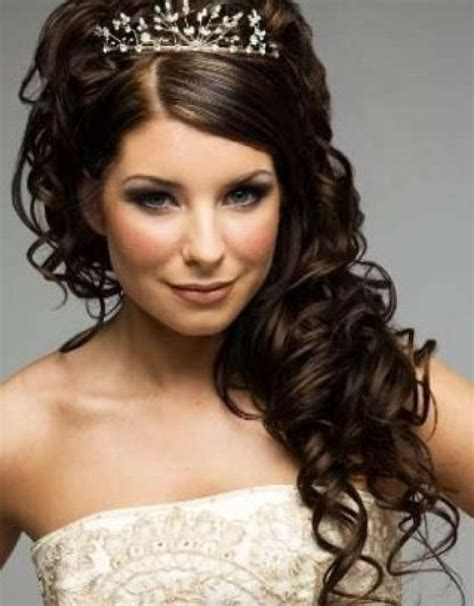 curly wedding hairstyles for hair