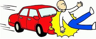 Accident Clipart Cliparts Cartoon Run Clip Crash