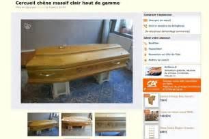 le bon coin il vend le cercueil de sa grand m 232 re