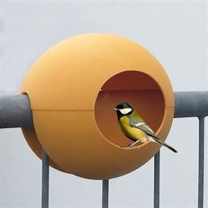 Vogelhaus Für Balkon : birdball das design vogelh uschen f r den balkon birdfeeder for the balcony der design ~ Whattoseeinmadrid.com Haus und Dekorationen