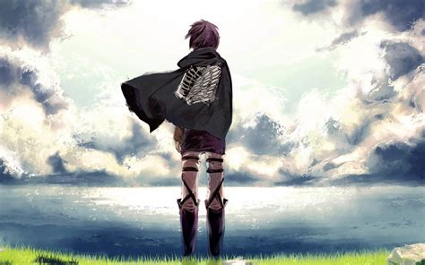 Anime Alone Hd Wallpaper - alone anime person hdwallpaperfx