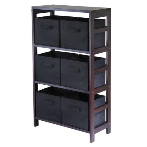 whitmor inc closet 6 shelf shoe rack system