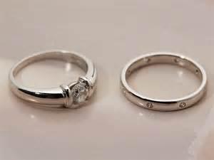 platinum engagement ring settings platinum engagement wedding ring set com582 second jewellery