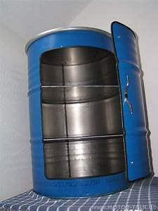 Maße 200 L Fass : fass 9 schrank aus 200 liter lfass bar partykeller blau werkzeugschrank biete 206372567 ~ Markanthonyermac.com Haus und Dekorationen