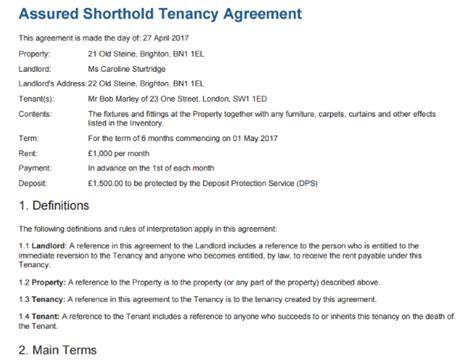 tenancy agreement template  edit sign