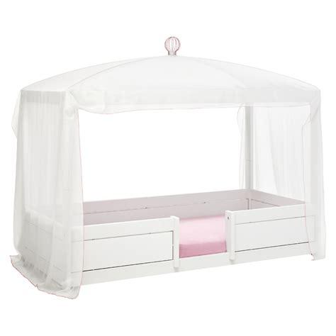 Für Kinderbett by Lifetime Betthimmel Vorhang White Pink F 252 R 4 In 1