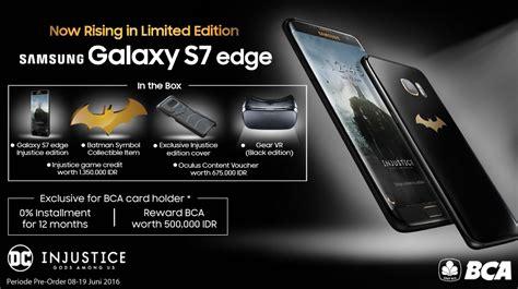 Harga Samsung Galaxy S7 Edge Injustice Edition Batman samsung galaxy s7 edge injustice edition goes up for pre