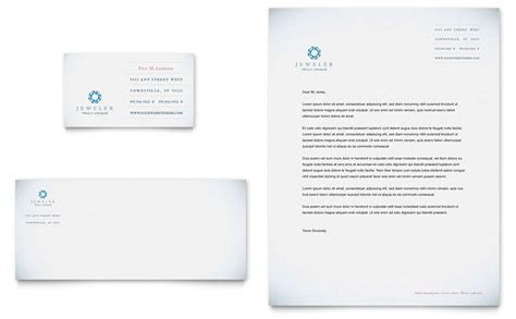 jeweler jewelry store business card letterhead