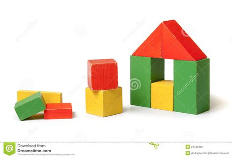 house made of blocks house made from colorful building blocks royalty free stock images image 21734989