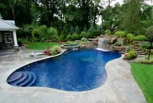 Pool Landscape - Pool Design Ideas Pictures