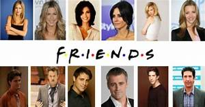 Amazing Transformations Of Friends Actors: Friends Cast ...
