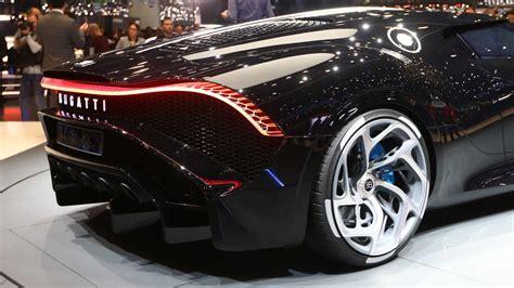 Bugatti La Voiture Noire - Most Expensive new Car Revealed ...