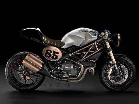Fuel's Retro Ducati Cafe Racer